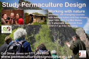 Full Permaculture Design Course in Llanrhaeadr this September